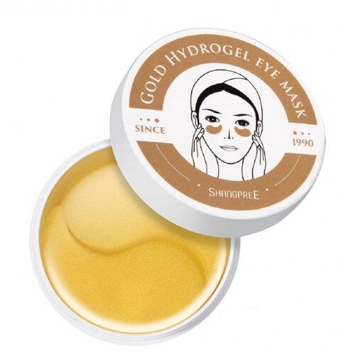 Shangpree Гидрогелевые патчи для глаз с золотом Gold Hydrogel Eye Mask (60 шт.) гидрогелевые патчи shangpree