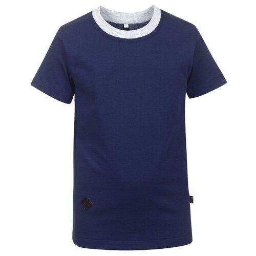 Футболка Nota Bene размер 140, темно-синий платье nota bene размер 140 васильковый
