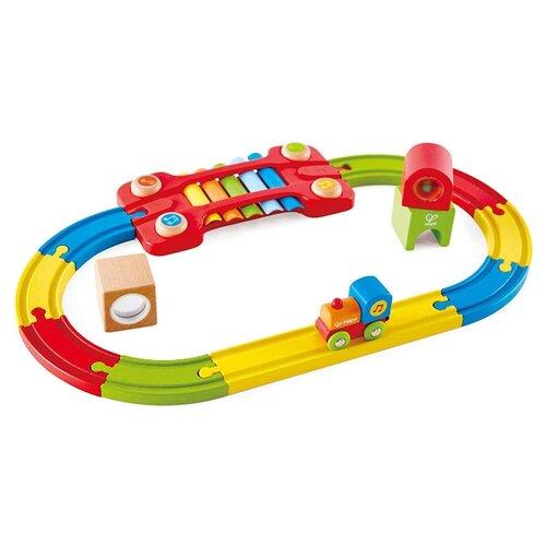 Hape Игровой набор Сенсорная музыкальная железная дорога, E3822