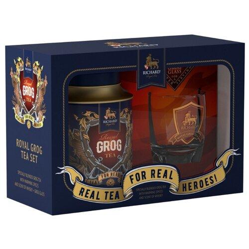 Чай черный Richard Royal Grog tea set подарочный набор , 120 г чай листовой richard royal ceylon dogs