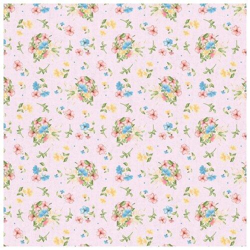 Ткани фасованные PEPPY (A - O) для пэчворка НЕЖНАЯ ИСТОРИЯ ФАСОВКА 50 x 55 см 146±5 г/кв.м 100% хлопок НИ-11 розовый