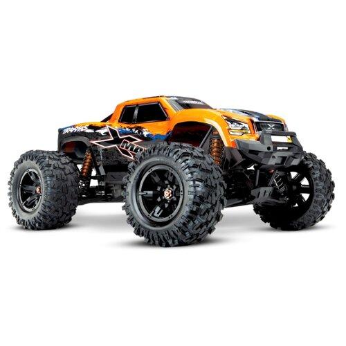 Монстр-трак Traxxas X-Maxx 4x4 8S TSM (77086-4) 1:5 75.8 см оранжевый, Радиоуправляемые игрушки  - купить со скидкой