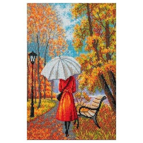 Купить Радуга бисера Набор для вышивания бисером Музыка дождя 26 х 39 см (В-287), Наборы для вышивания