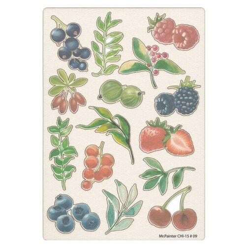 Купить Mr. Painter Чипборд для скрапбукинга CHI-15 11.5 см х 16.5 см 09 Лесные ягоды бежевый, Украшения и декоративные элементы