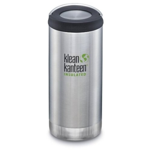 Термобутылка Klean Kanteen TKWide Loop Cap 12oz, 0.355 л серебристый