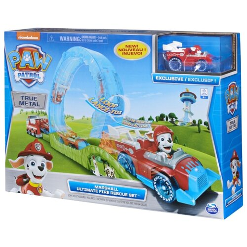 Фото - Трек Spin Master Paw Patrol True Metal Ultimate Fire Rescue Set 6058363 шапка true spin hope