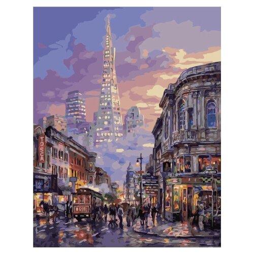 Купить Картина по номерам Paintboy PK 49008 Оживленная улица 40x50 см, Картины по номерам и контурам