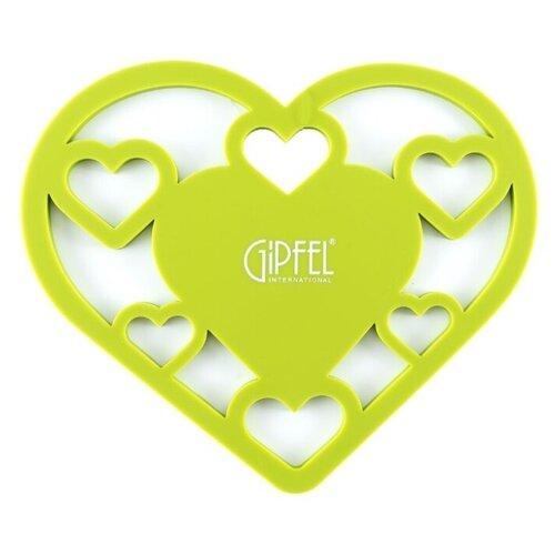 Подставка под горячее GIPFEL AMOUR 0297 21х17х0.5 см подставка под горячее gipfel 0335 20 3х20х0 7см