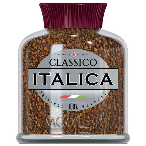Кофе растворимый Italica Classico, стеклянная банка, 100 г giuseppe ricchino malatesta corpus omnium veterum poetarum latinorum cum eorumden italica versione volume 8 latin edition
