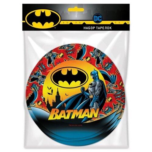 ND Play Тарелки бумажные Batman 18 см (6 шт.) batman batman year one