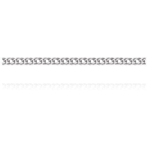 АДАМАС Цепь из белого золота плетения Ромб двойной ЦР235А2-А58, 55 см, 3.76 г