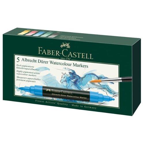 Купить Faber-Castell Набор маркеров Albrecht Dürer (160305) 5шт., Фломастеры и маркеры