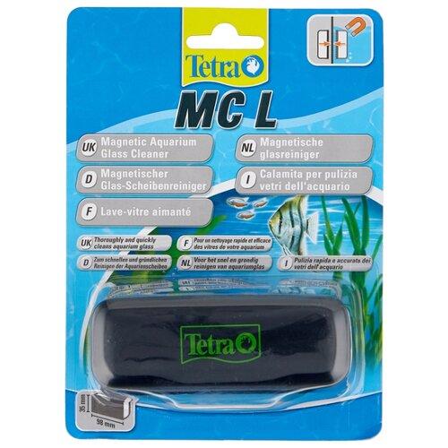 Скребок для аквариума Tetra MC Magnet Cleaner L черный