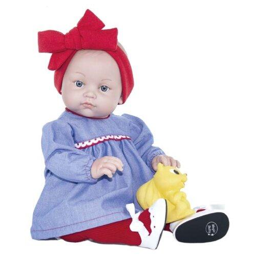 Купить Пупс Lamagik Алисия в синем платье и красной повязке, 45 см, 46017, Куклы и пупсы