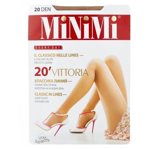 Колготки MiNiMi Vittoria 20 den, размер 5-XL, caramello (бежевый) колготки minimi avanti 40 den размер 5 xl caramello бежевый