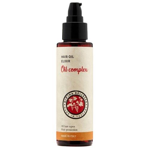 DiVina Bellezza Многофункциональное масло для волос Hair Oil Elixir, 100 мл