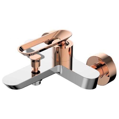 Фото - Смеситель для ванны с подключением душа Bien Hermes BB0100940x однорычажный хром/розовое золото смеситель для кухни bien hermes be11009408 хром розовое золото