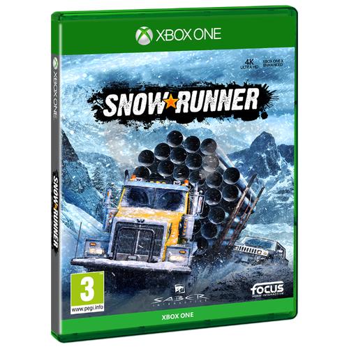 Игра для Xbox ONE Snowrunner