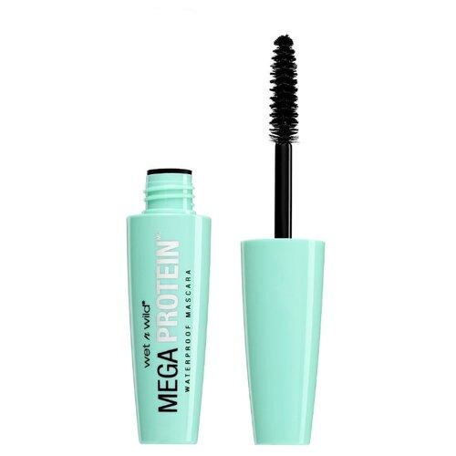 Wet n Wild Тушь для ресниц Mega Protein Waterproof Mascara, Very Black wet n wild тушь для ресниц mega protein waterproof mascara very black