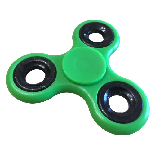 Спиннер EDC Toys STSPIN002/3 зелeный