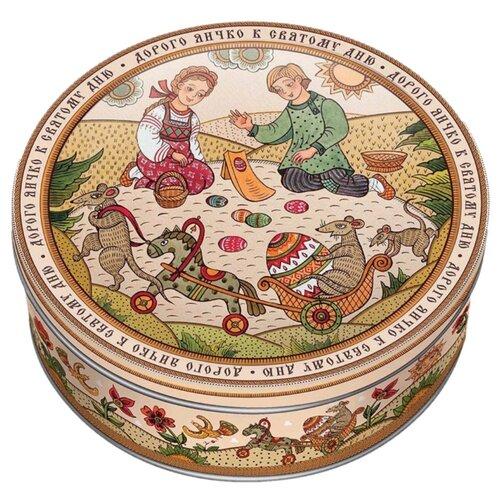 Печенье Сладкая Сказка Лубок Русские пословицы в сахарной обсыпке, 400 гр сладкая сказка рождественская дверь красная шоколадные конфеты 400 г