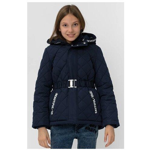 Купить Куртка Button Blue 220BBGJC41021000 размер 134, синий, Куртки и пуховики