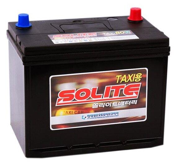 Аккумулятор Solite TAXI 80R