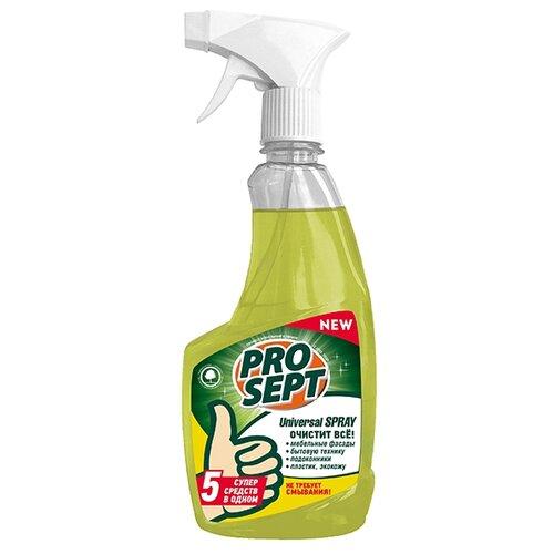 PROSEPT Средство для уборки Universal spray 0.5 л спрей prosept universal hard для очистки каминных стекол от сажи и копоти 0 5 л
