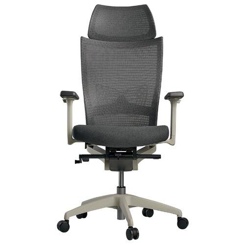 Эргономичное компьютерное кресло Schairs ZEN2-M01W GREY