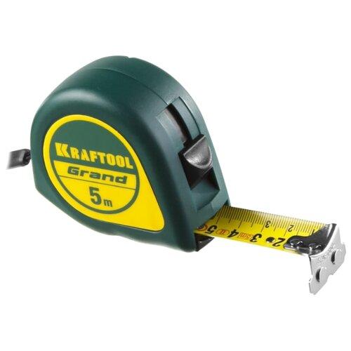 Измерительная рулетка Kraftool 34022-05-25 25 мм x 5 м измерительная рулетка mirax 34011 05 18 18 мм x 5 м