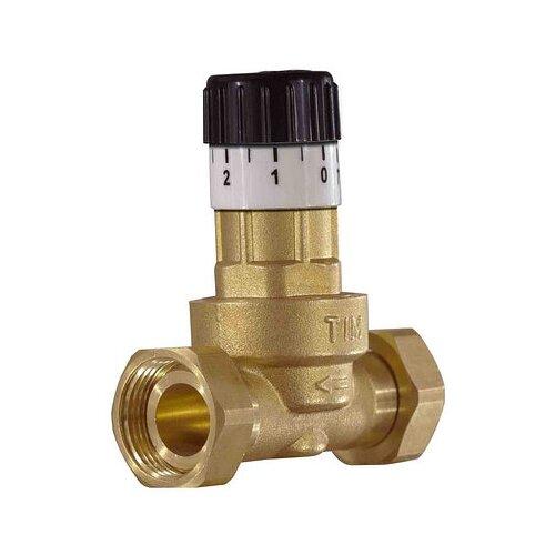 Фото - Предохранительный клапан со свободным истечением Tim BL0833 муфтовый (ВР/ВР), латунь, Ду 20 (3/4) запорный клапан зубр ширефит 51571 20 муфтовый вр вр ду 20 3 4