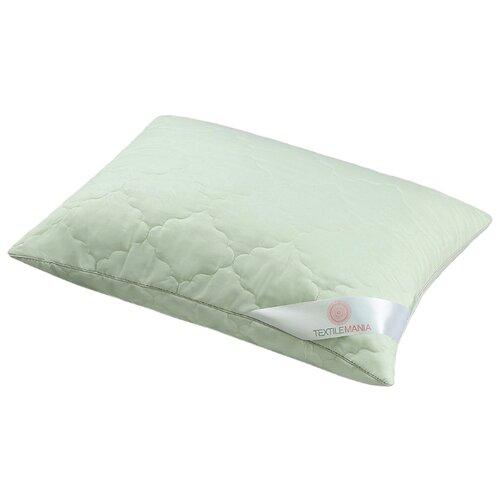 Подушка Textilemania Бамбук Комфорт размер 50*70, зеленый