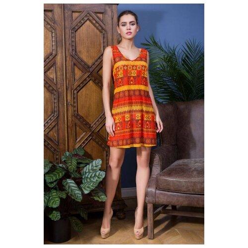 Пляжное платье Mia-Mia Adelin размер XS(42) оранжевый платье oodji ultra цвет красный белый 14001071 13 46148 4512s размер xs 42 170