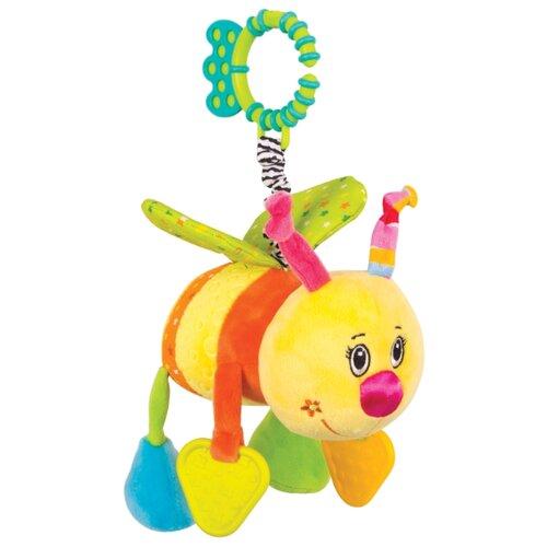 Купить Подвесная игрушка Happy Snail Пчелка Жу-жу (14HS001PP) желтый/оранжевый/зеленый, Подвески