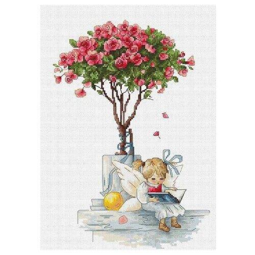 Luca-S Набор для вышивания Розы, 18 х 29.5 см, B1115, Наборы для вышивания  - купить со скидкой