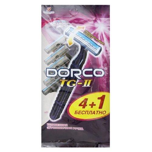 Фото - Бритвенный станок Dorco TG II, одноразовый, 4+1 шт бритвенный станок dorco tr a200