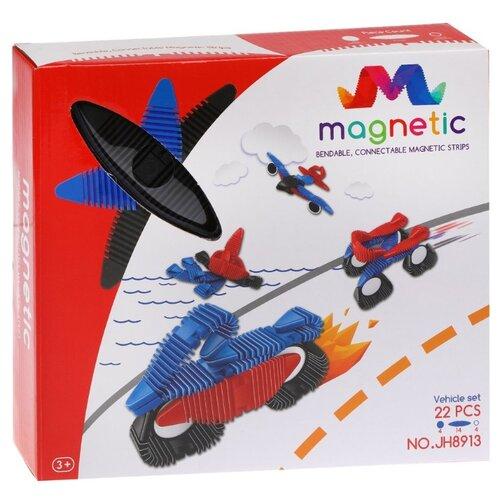 Купить Магнитный конструктор Наша игрушка Magnetic JH 8913, Конструкторы