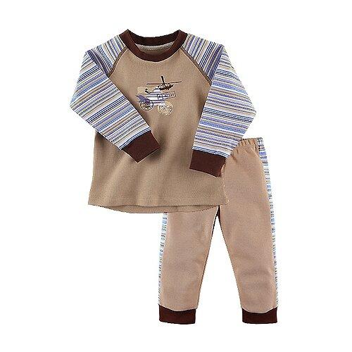 Купить Пижама Наша мама размер 116, бежевый, Домашняя одежда
