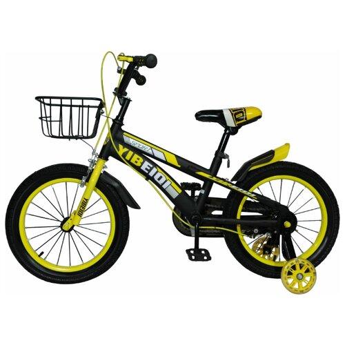 детский велосипед yibeigi v 14 синий Детский велосипед Yibeigi Z-12 желтый