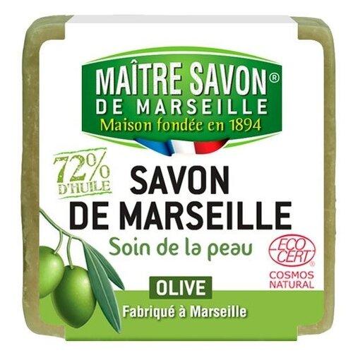 Мыло кусковое Maitre Savon de Marseille Оливковое, 200 г savon de cleopatra бальзам