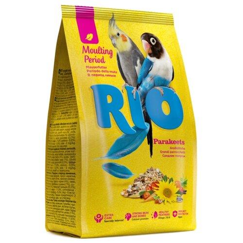 RIO корм Moulting period для средних попугаев 500 г rio корм daily feed для крупных попугаев 500 г