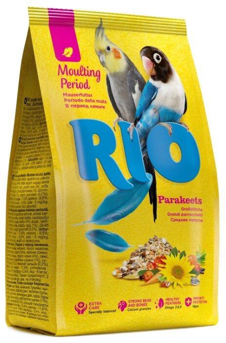 RIO корм Moulting period для средних попугаев