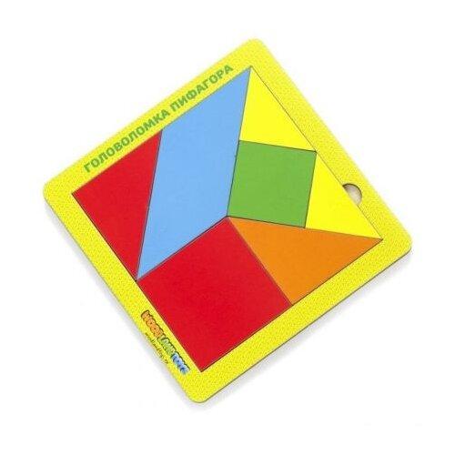Головоломка Woodland Пифагора 83212 многоцветный, Головоломки  - купить со скидкой