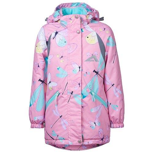 Куртка Oldos Иви ASS202T1JK25 размер 104, розовый куртка для девочки jicco by oldos ирма цвет малиновый 2j8jk01 размер 104 4 года