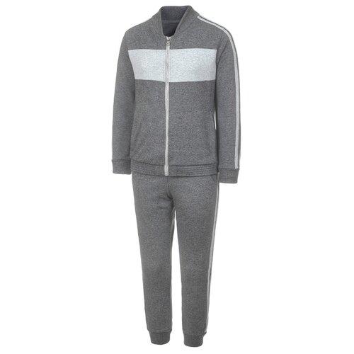 Купить Спортивный костюм M&D размер 128, серый, Спортивные костюмы
