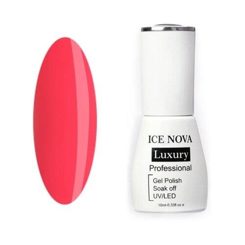 Купить Гель-лак для ногтей ICE NOVA Luxury Professional, 10 мл, 020 hot pink