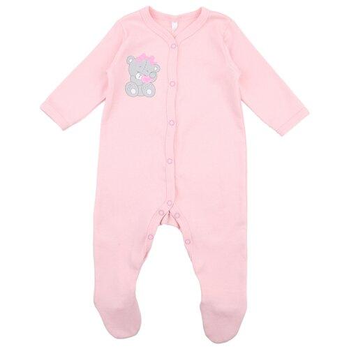 Купить Комбинезон Leader Kids размер 74, розовый, Комбинезоны