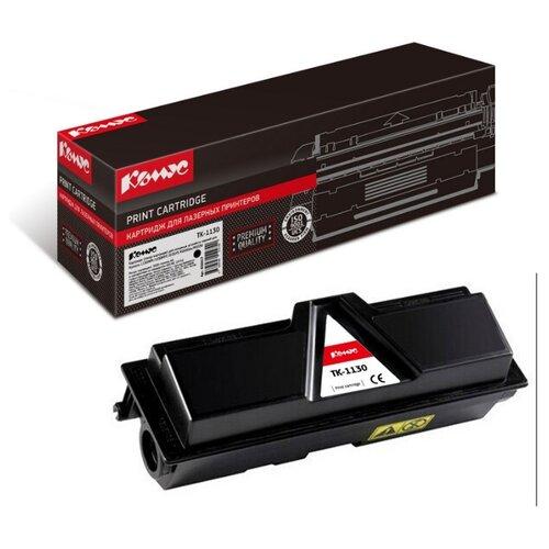 Фото - Картридж лазерный Комус TK-1130 черный, для Kyocera FS-1030/113 картридж лазерный комус tk 580k черный для kyocera fs c5150dn