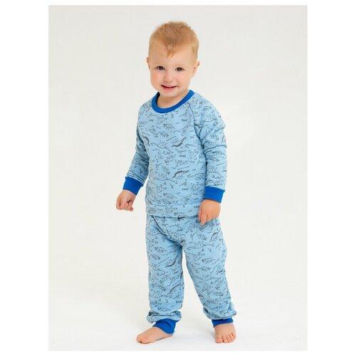 Пижама KotMarKot размер 92, голубой