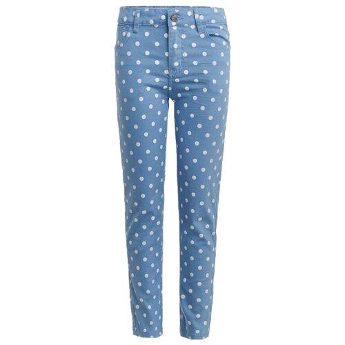Брюки Button Blue 119BBGC6303 размер 122, голубой брюки coccodrillo размер 122 голубой